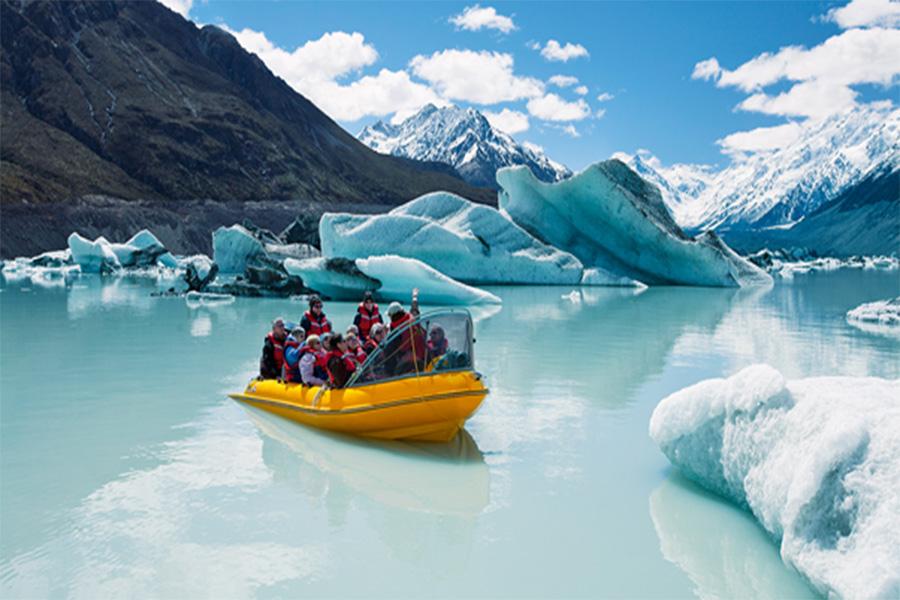 La desaparición de los glaciares de Nueva Zelanda